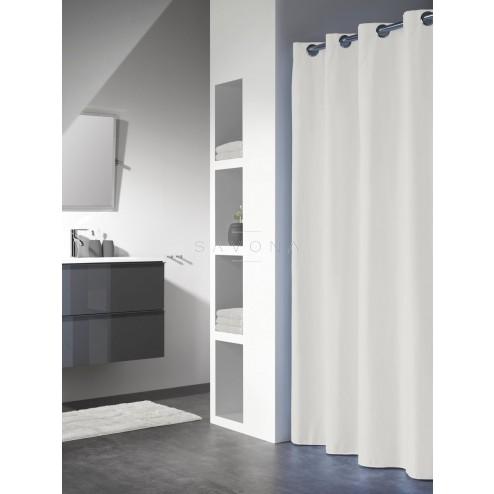 Vonios dušo užuolaida Sealskin Coloris, balta (180 x 200)