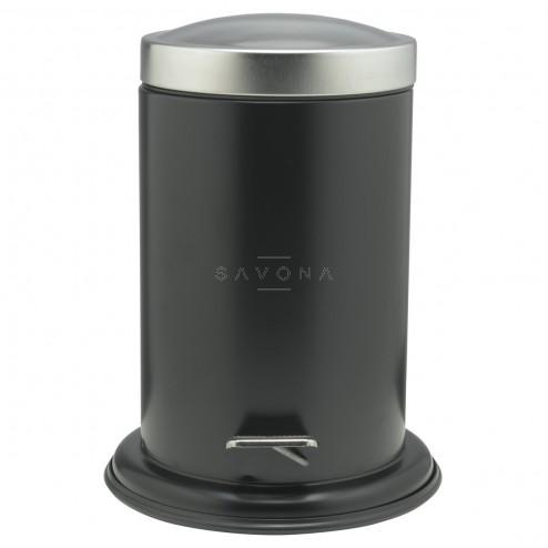 Šiukšliadėžė Sealskin Acero, juoda, 3 l