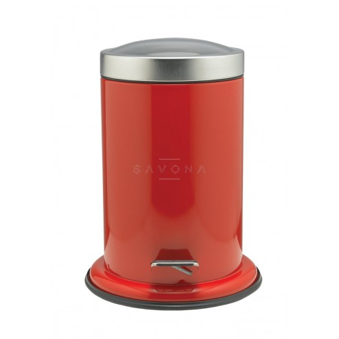 Šiukšliadėžė Sealskin Acero, raudona, 3 l