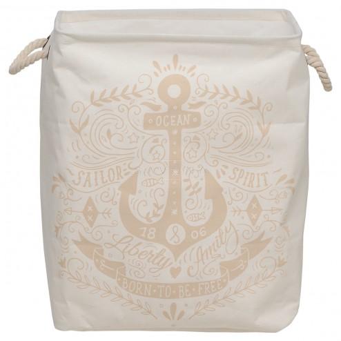 Skalbinių krepšys Sealskin Anchor, ecru