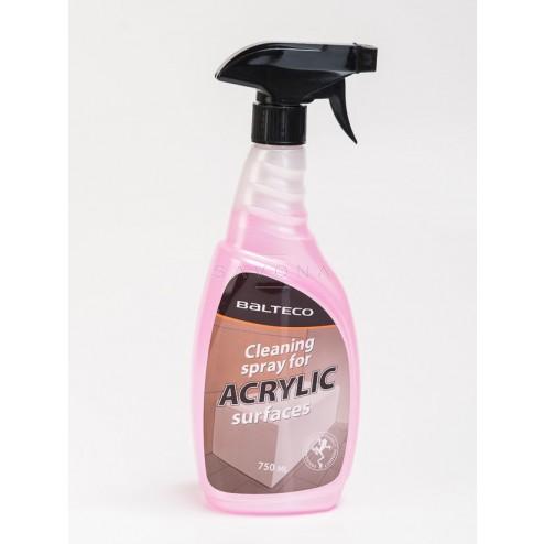 Akrilinių vonių valymo priemonė