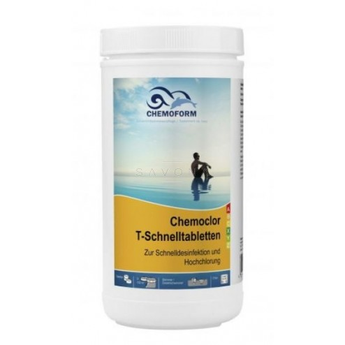 Greito tirpimo chloro tabletės Chemoform 1kg