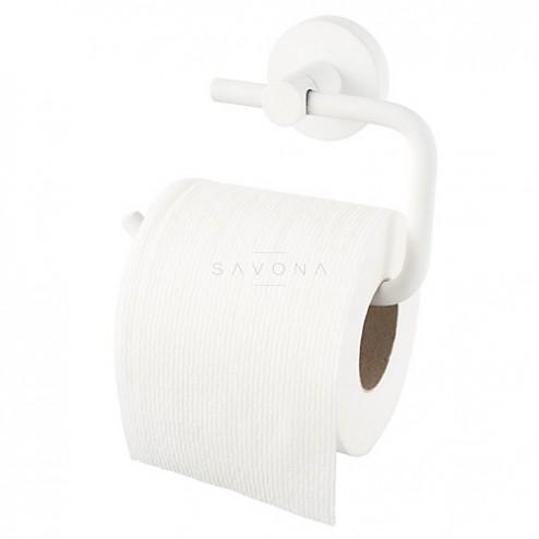 Kosmos White WC popieriaus laikiklis be dangtelio, baltas