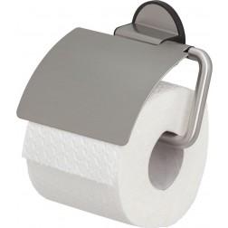 Tiger Tune tualetinio popieriaus laikiklis su dangčiu Nerūdijančio plieno šlifuotas / juodas