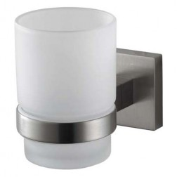 Haceka Mezzo Tec vonios stiklinė, pritvirtinama matinis chromas