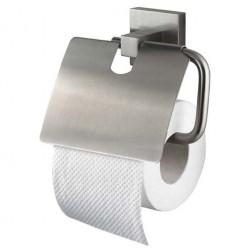 Haceka Mezzo Tec tualetinio popieriaus laikiklis su dangtelius matinis chromas