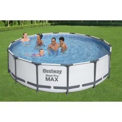 4.27m x 1.07m Bestway apvalus karkasinis lauko baseinas STEEL PRO™ MAX