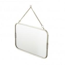 Kosmetinis veidrodis Vintage, pakabinamas, Chromas