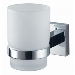 Haceka Mezzo vonios stiklinė, pritvirtinama, chromas