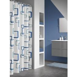 Vonios dušo užuolaida Sealskin Retro, mėlyna (180x200)