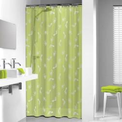 Vonios dušo užuolaida Sealskin Amy, žalia (180x200)