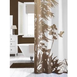 Vonios dušo užuolaida Sealskin Jungle, smėlio (180x200)