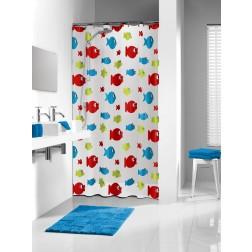 Vonios dušo užuolaida Sealskin Sebastian, multi (180x200)