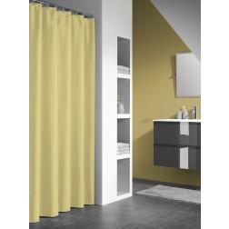Vonios dušo užuolaida Sealskin Granada, geltona (180x200)