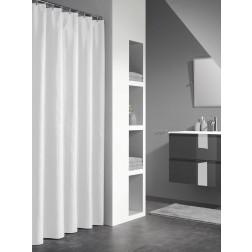 Vonios dušo užuolaida Sealskin Granada, balta (180x200)