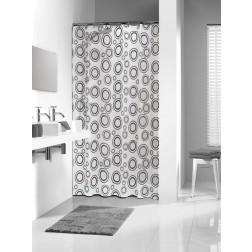 Vonios dušo užuolaida Sealskin Circolo, pilka (180x200)