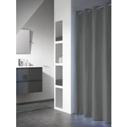 Vonios dušo užuolaida Sealskin Coloris, pilka (180x200)