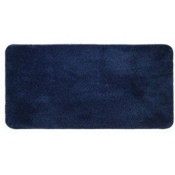 Neslystantis vonios kilimėlis Sealskin Angora, 140 x 70 cm, mėlynas
