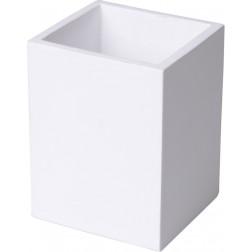 Vonios stiklinė Sealskin Cura, balta, pastatoma