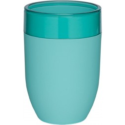 Vonios stiklinė Sealskin Bloom, aqua, pastatoma