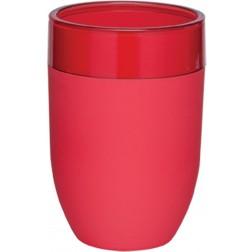 Vonios stiklinė Sealskin Bloom, raudona, pastatoma