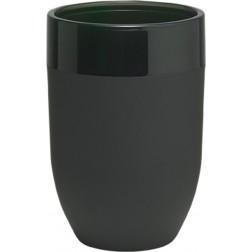 Vonios stiklinė Sealskin Bloom, juoda, pastatoma