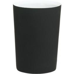 Vonios stiklinė Sealskin Two Tone, juoda, pastatoma