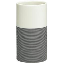 Vonios stiklinė Sealskin Doppio, pilka, pastatoma