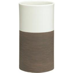 Vonios stiklinė Sealskin Doppio, ruda, pastatoma