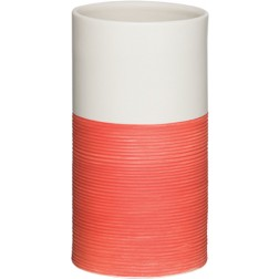 Vonios stiklinė Sealskin Doppio, raudona, pastatoma