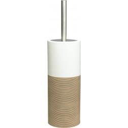Pastatomas tualeto šepetys Sealskin Doppio, smėlio