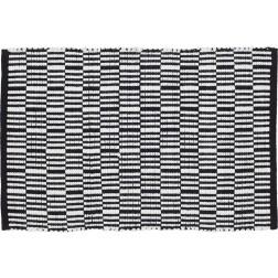 Vonios kilimėlis Sealskin Bandra, 90 x 60 cm, juodas