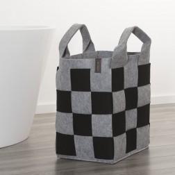 Skalbinių krepšys Sealskin Weave, juodas