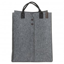 Skalbinių krepšys Sealskin Felt, pilkas