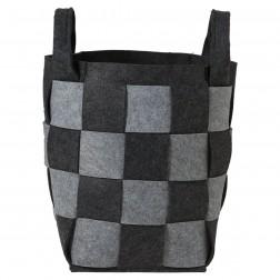 Skalbinių krepšys Sealskin Weave, pilkas