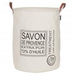 Skalbinių krepšys Sealskin Savon De Provence, ecru