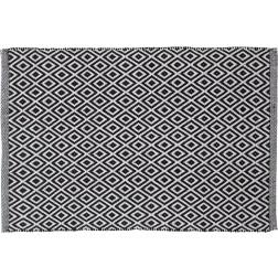 Vonios kilimėlis Sealskin Trellis, 90 x 60 cm, juodas