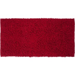 Tualeto kilimėlis Sealskin Twist, 120 x 60 cm, raudonas