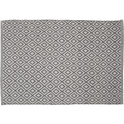 Vonios kilimėlis Sealskin Trellis, 90 x 60 cm, pilkas