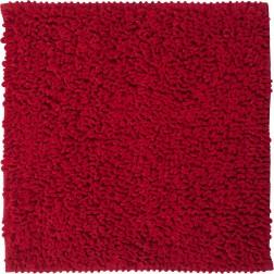 Tualeto kilimėlis Sealskin Twist, 60 x 60 cm, raudonas
