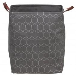 Skalbinių krepšys Sealskin Geometric, pilkas