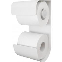 Tualetinio popieriaus laikiklis Sealskin Brix, baltas, pakabinamas
