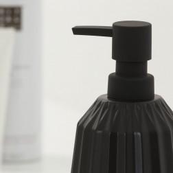 Skysto muilo dozatorius Sealskin Arte, juodas, 400 ml