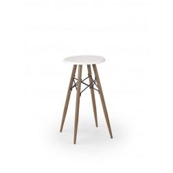 Metalinė kėdė ACORD, 30/45 cm, balta