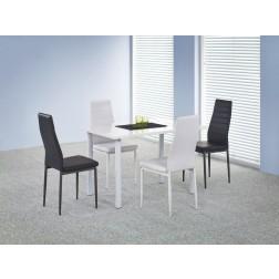Valgomojo stalas ADONIS, 120/80/76 cm, balta