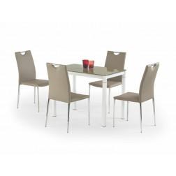 Valgomojo stalas ARGUS, 100/60/75 cm, smėlio