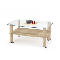 Kavos staliukas ASTRA, 100/63/45 cm, medis
