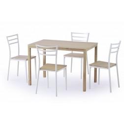 Valgomojo komplektas AVANT + 4 kėdės