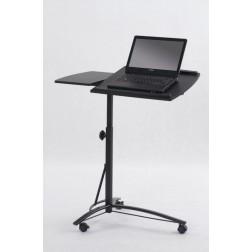 Biuro stalas B14, 73/40/63÷93 cm, juoda