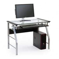 Biuro stalas B18, 100/60/75 cm, juoda